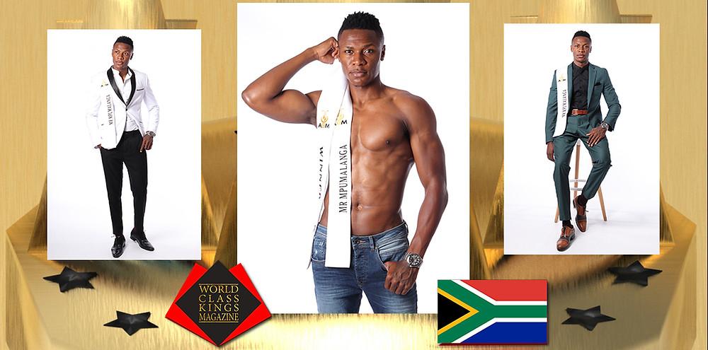 Samkelo Rudolph Ngomane Mr Mpumalanga 2020, World Class Kings Magazine,
