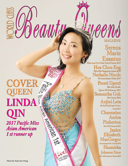 Issue 59 World Class Beauty Queens Magazine