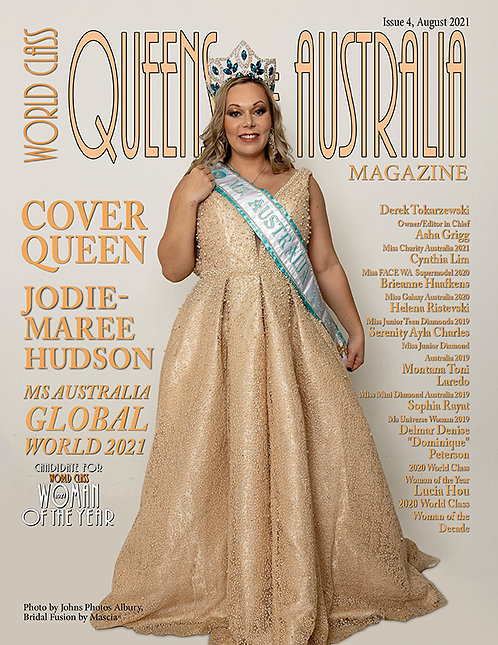 Issue 4 World Class Queens of Australia Magazine