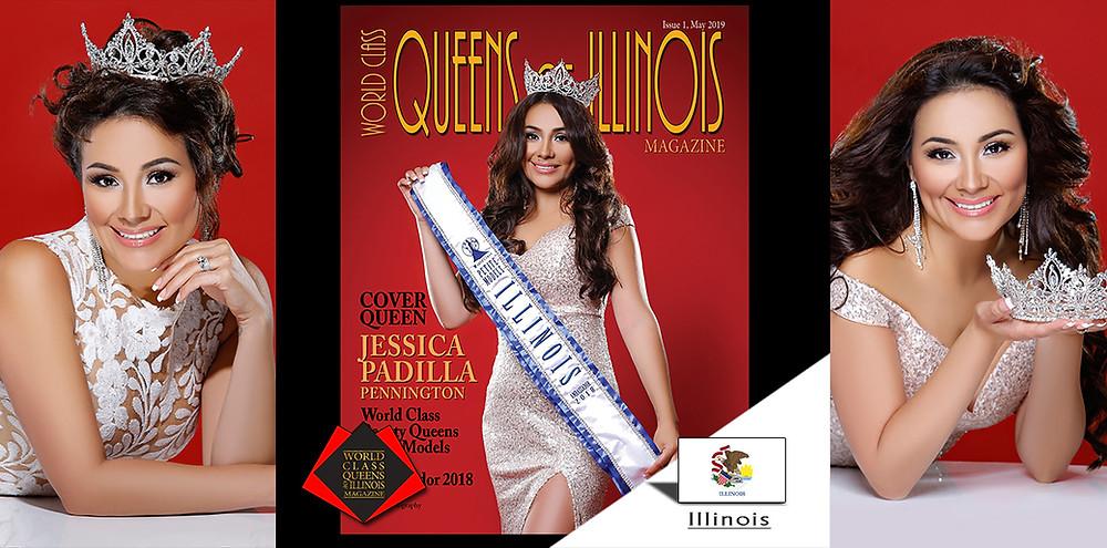 Jessica Padilla Pennington World Class Petite Models Illinois Ambassador 2018, World Class Queens of Illinois Magazine, Photo by Eva Flis