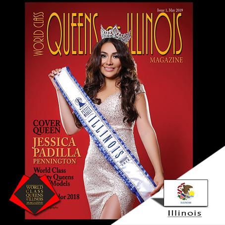 Jessica Padilla Pennington World Class Petite Models Illinois Ambassador 2018