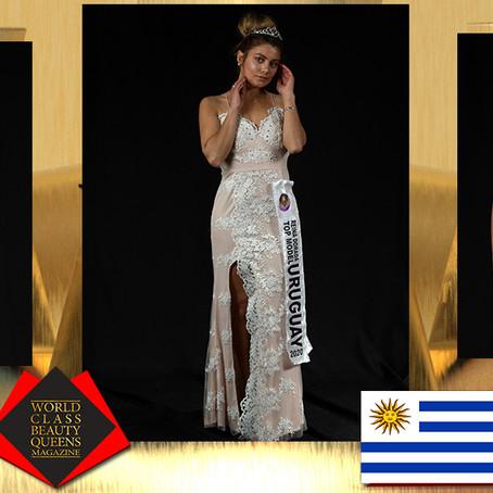 Lucia Vanessa Diaz Bentancor Reina Top Model Dorada Uruguay 2020
