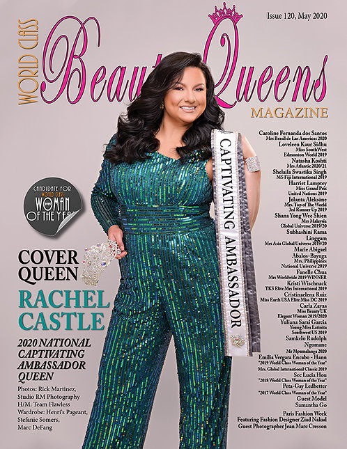 Issue 120 World Class Beauty Queens Magazine
