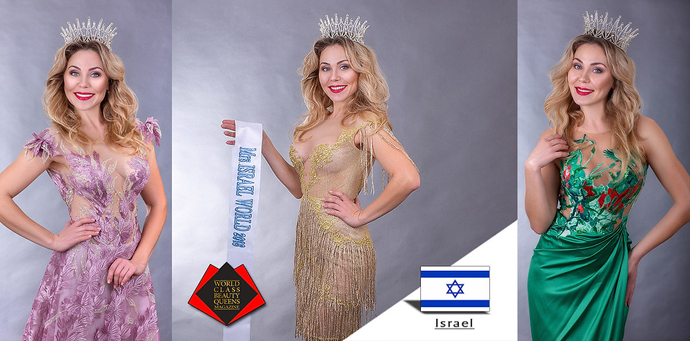 World Class Beauty Queens Magazine, Irina Meltser, Mrs Israel World 2018,