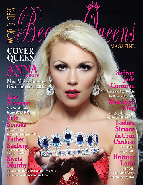 Issue 39 World Class Beauty Queens Magazine
