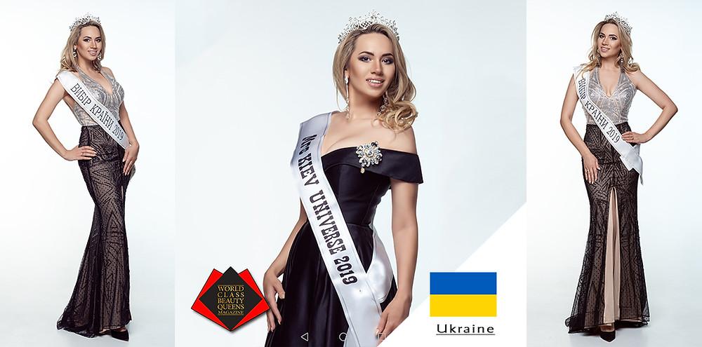 Elena Grytsynger Mrs Kiev Universe 2019, World Class Beauty Queens Magazine,