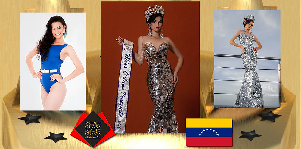 Yosdany Argelis Navarro Silva Miss Océano Venezuela 2019, World Class Beauty Queens Magazine