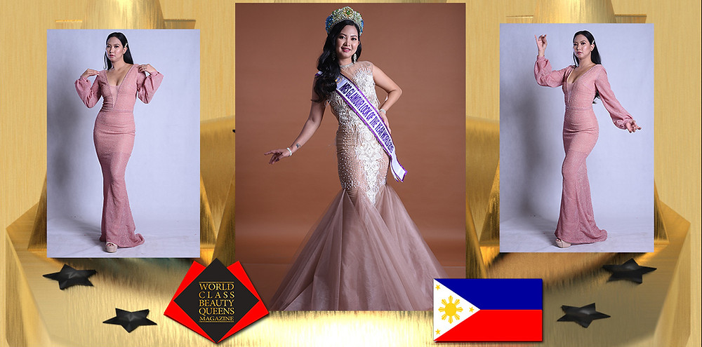 Joy Ann V Santos Mrs Glamour look of the year International 2019 World, World Class Beauty Queens Magazine,