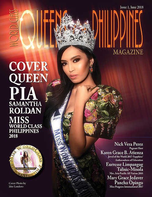 Issue 1 World Class Queens of Philippines Magazine