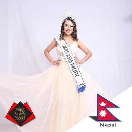 Chanda Thapa TKS Mrs. Asia Pacific 2018