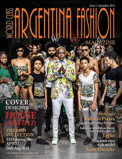 Issue 3 World Class Argentina Fashion Magazine