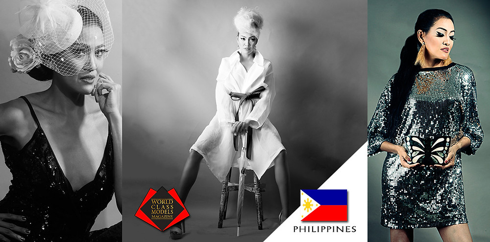 Model: Shiela DeForest, World Class Models Magazine, Photography & Styling by Eros Goze. Fashions were mostly sourced from Baguio City, Philippines Ukay-Ukay (pre-loved fashions market) in support of Shiela's sustainable fashion advocacy.