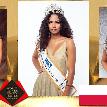 Aleksandra Łodejska Miss Województwa Świętokrzyskiego 2020