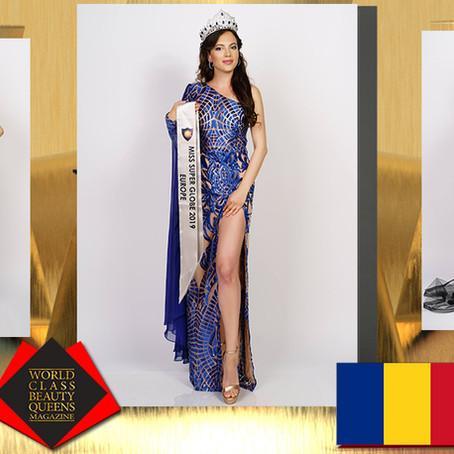 Irina Berdila Miss Europe Super Globe 2019