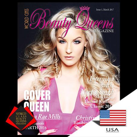 Jenna Rae Mills Miss Illinois Earth 2016 United States