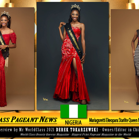 Mariagoretti Ekeopara Starlite Queen Nigeria Winner 2020/2021