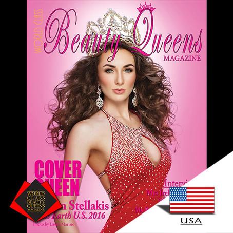 Corrin Stellakis Miss Earth U.S. 2016