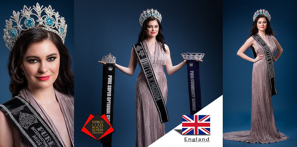Rosemary Lloyd Pure International Miss United Kingdom 2019, World Class Beauty Queens Magazine, Photo by Circle of Life Photography