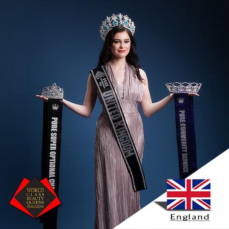 Rosemary Lloyd Pure International Miss United Kingdom 2019