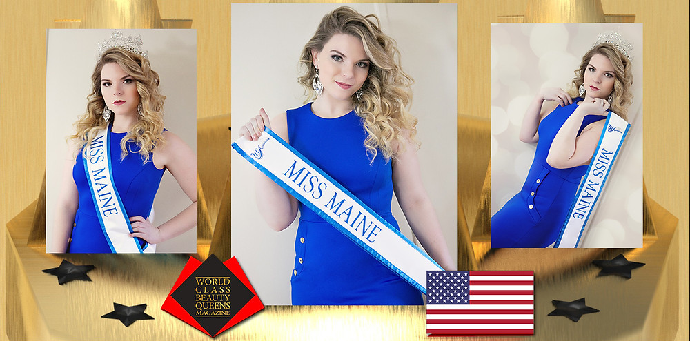 Delaney Hartley Miss Maine USA Ambassador 2020, World Class Beauty Queens Magazine