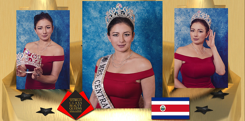 Evelyn Fernandez Mrs. Central America Globe 2019, World Class Beauty Queens Magazine