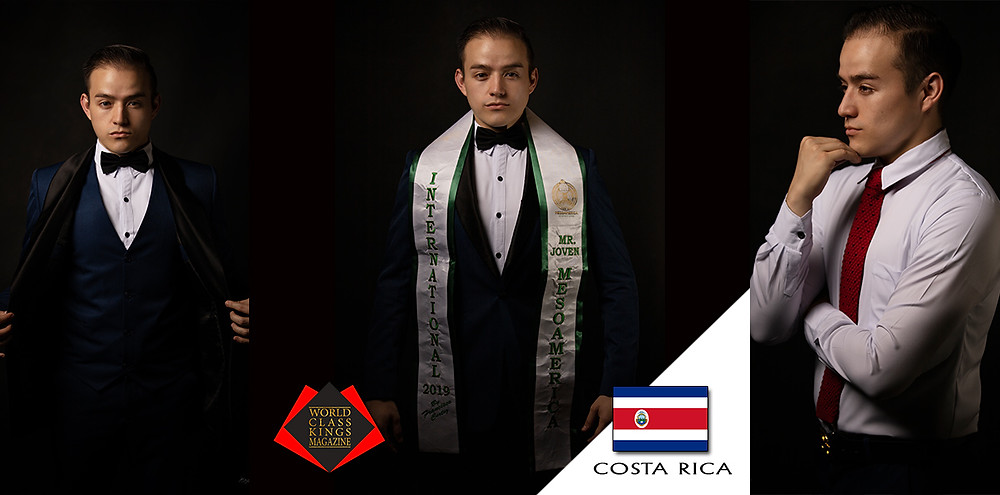 Jurgen Genne Fernández Venegas Mister Joven Mesoamérica Internacional 2019, World Class Kings Magazine, Photo by Alejandro Bermudez Vargas