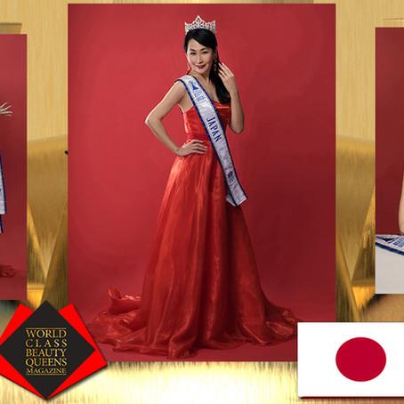 Hisae Minami World Class Beauty Queens Japan Ambassador 2021