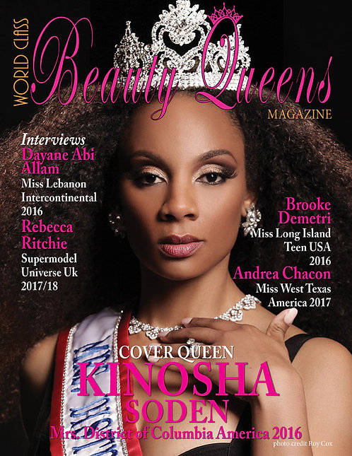 Issue 33 World Class Beauty Queens Magazine