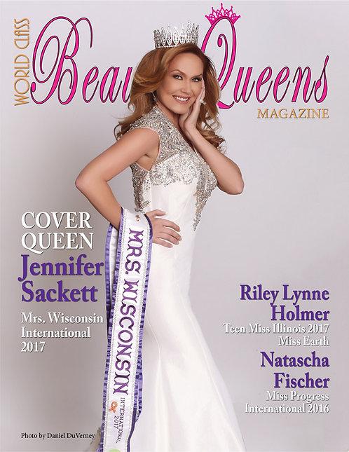 Issue 23 World Class Beauty Queens Magazine