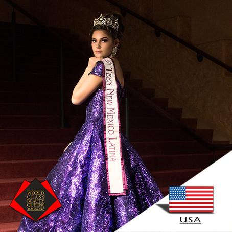 Annali Flores Miss Teen New Mexico Latina 2018
