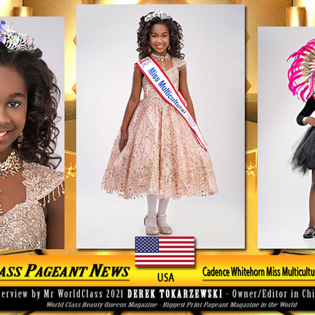 Cadence Whitehorn Miss Multicultural 2021 America Nation