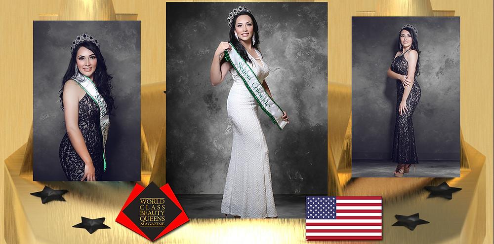 Erika Ponce Mrs. Colorado 2019-2020, World Class Beauty Queens Magazine, Photo by George Sanchez Fotografía