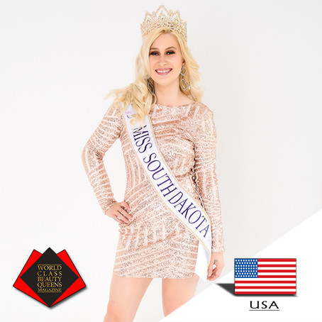 Jana Vetter Miss South Dakota Earth 2019