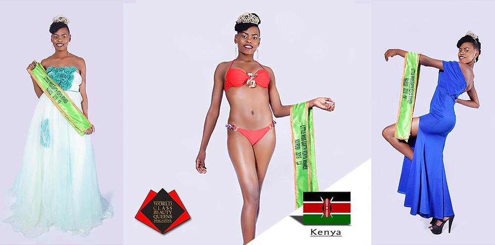 Catherine Wanjiru Gatimu Little Miss Earth Kenya Nairobi 2019, World Class Beauty Queens Magazine,
