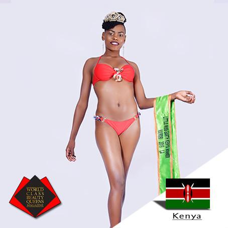Catherine Wanjiru Gatimu Little Miss Earth Kenya Nairobi 2019