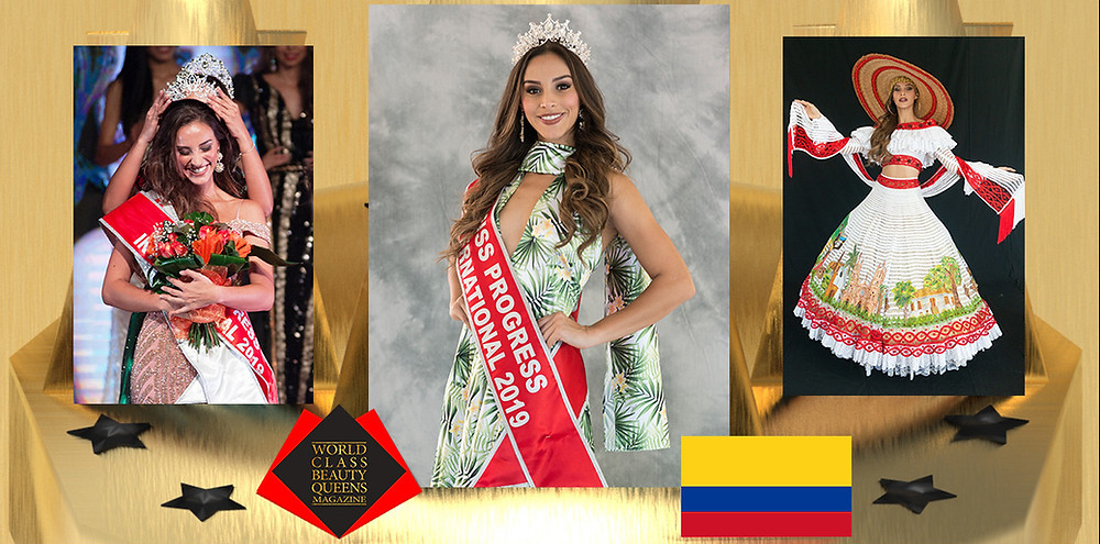 Vanesa Giraldo Lopez Miss Progress International 2019, World Class Beauty Queens Magazine,