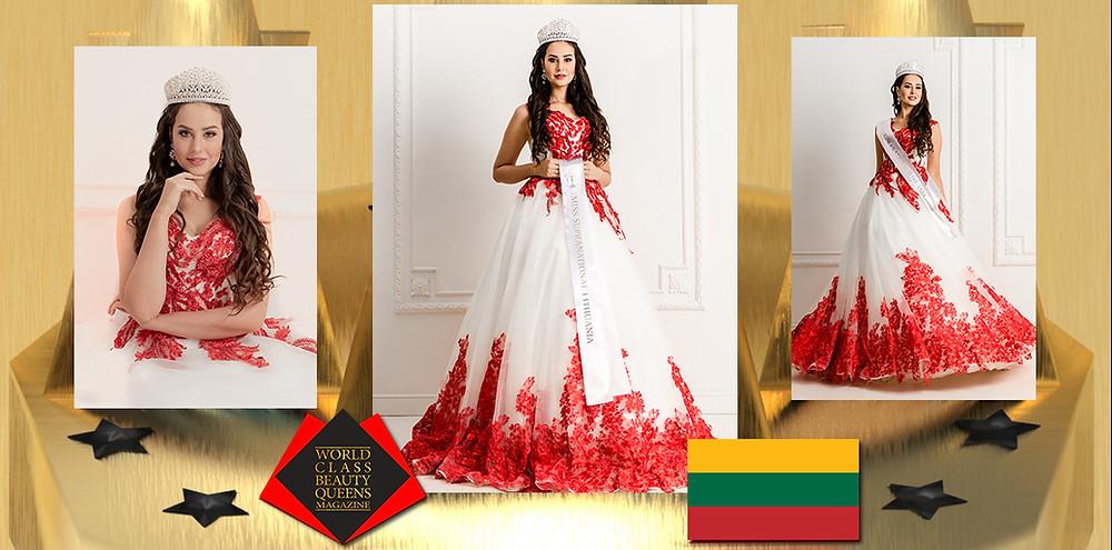 Jurate Stasiunaite Miss Supranational Lithuania 2019, World Class Beauty Queens Magazine,