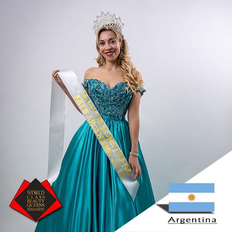 Fernanda Guzmán de Baigorria Lady Star Universal Miss Argentina 2019