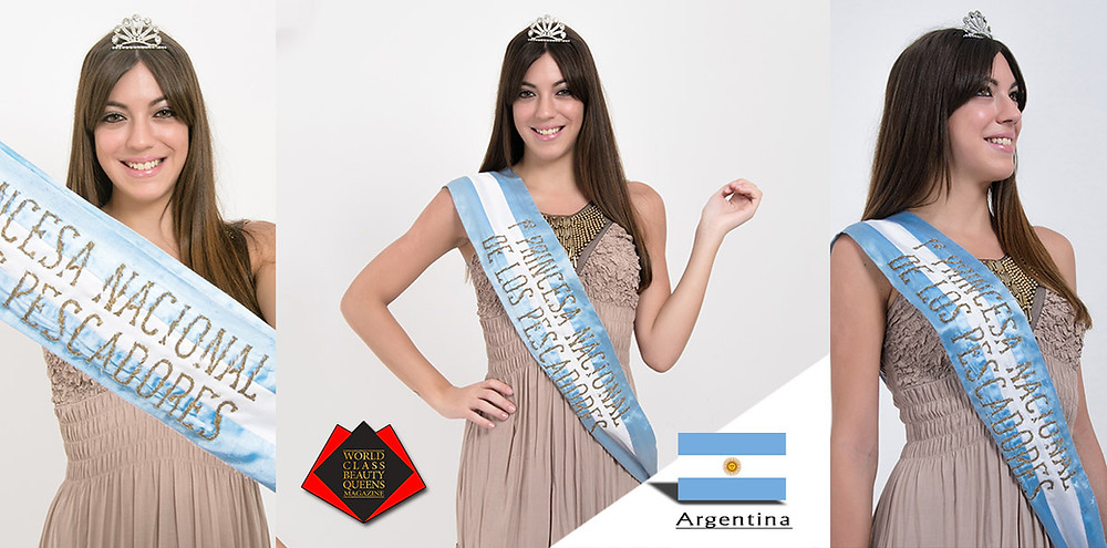 Dahiana Hansen, 1st Princesa Nacional de los Pescadores 2019, World Class Beauty Queens Magazine, Photo by Guillermo Magallanes,