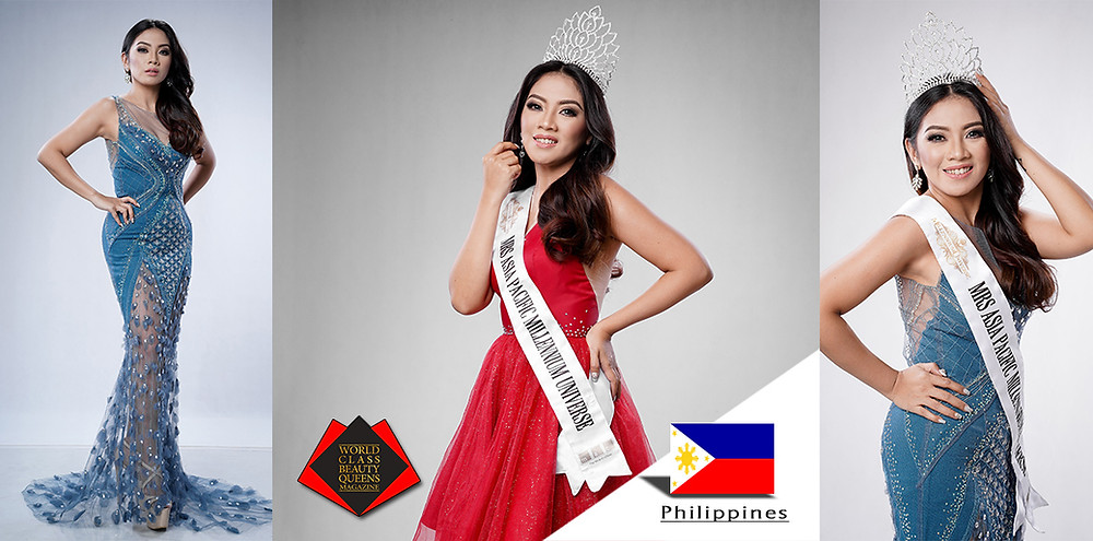 Luanne Marieleise Mrs Millennium Universe 2019 3rd RU, World Class Beauty Queens Magazine,