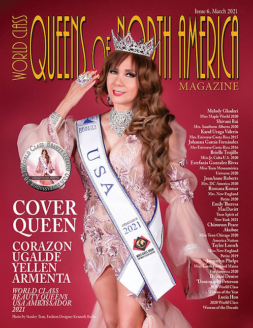 Issue 6 World Class Queens of North America Magazine
