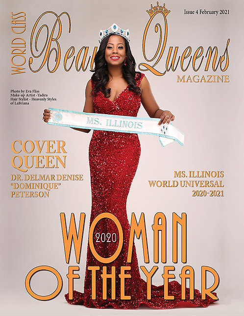 Issue 4 World Class Beauty Queens Magazine 2020 World Class Woman of the Year