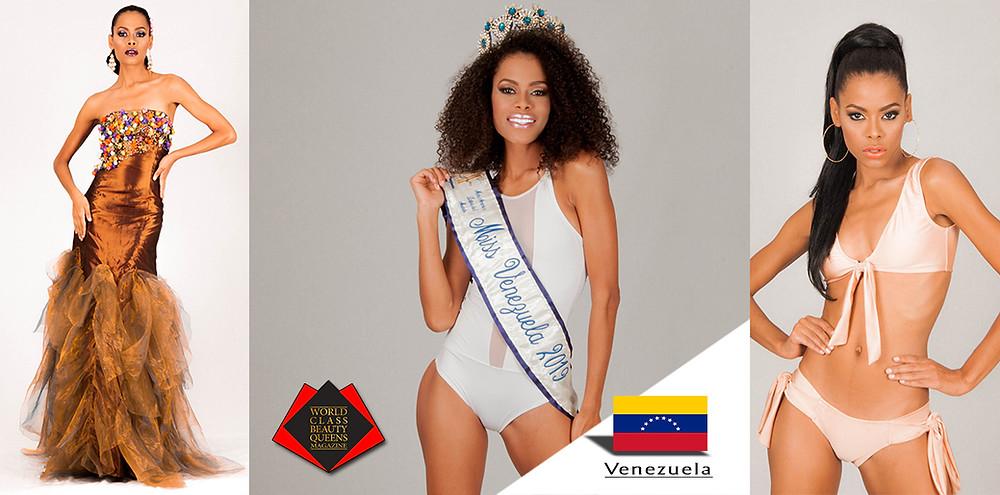 María Gabriela Quintero Flores Miss América Latina Venezuela 2019, World Class Beauty Queens Magazine,