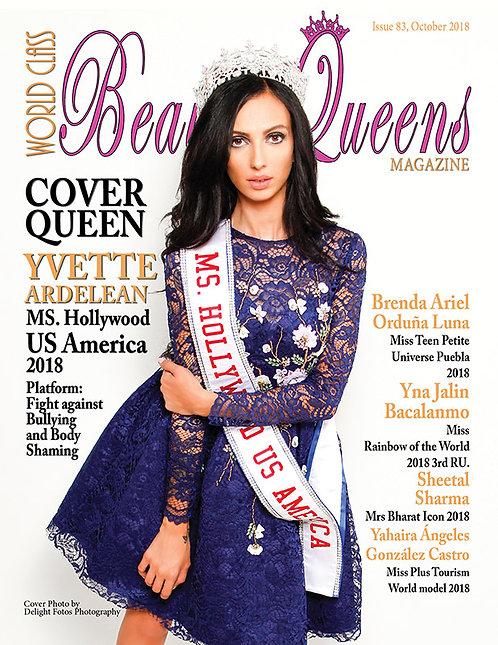 Issue 83 World Class Beauty Queens Magazine