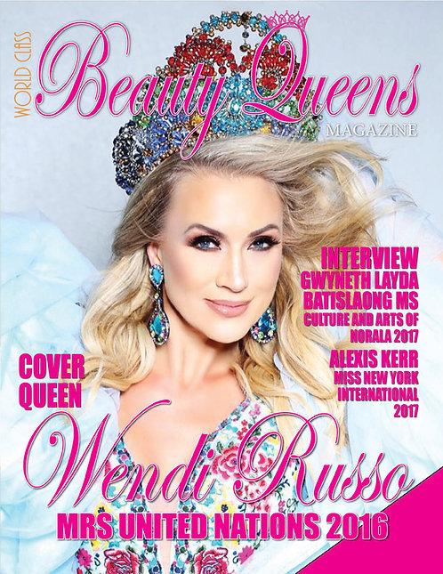 Issue 13 World Class Beauty Queens Magazine
