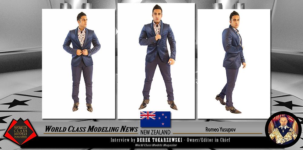 Romeo Yusupov, World Class Models Magazine,