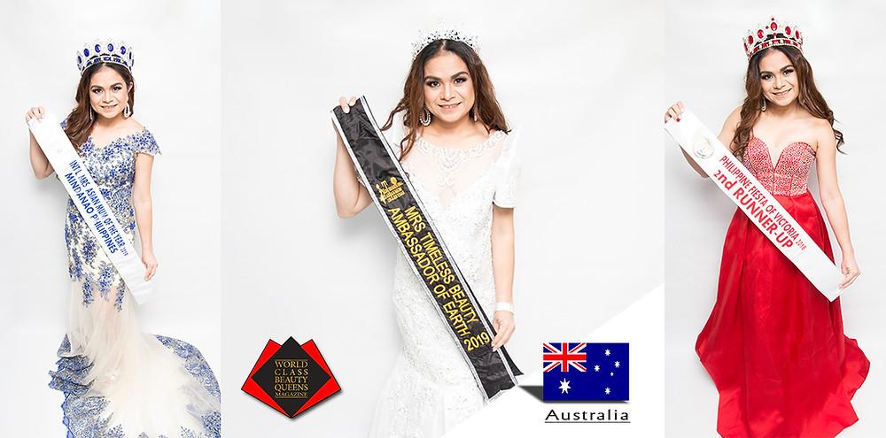 Rodelyn Daguplo Mrs Timeless Beauty Ambassador of Earth 2019