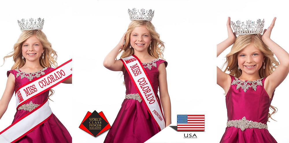 Ava Reese Franzen, World Class Princess Magazine,
