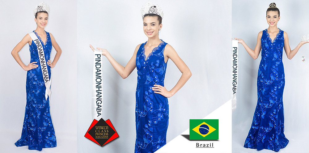 Lavínia Sanchez Miss Pindamonhangaba Infanto Juvenil 2019, World Class Princess Magazine, Photo by Estúdio Mãe Bebê