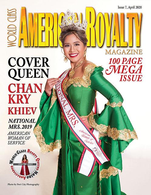 Issue 7 World Class American Royalty Magazine